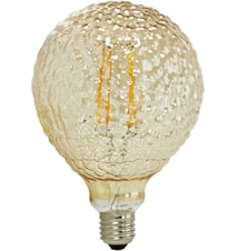 Elegance LED Globe Glamour 125mm Gold