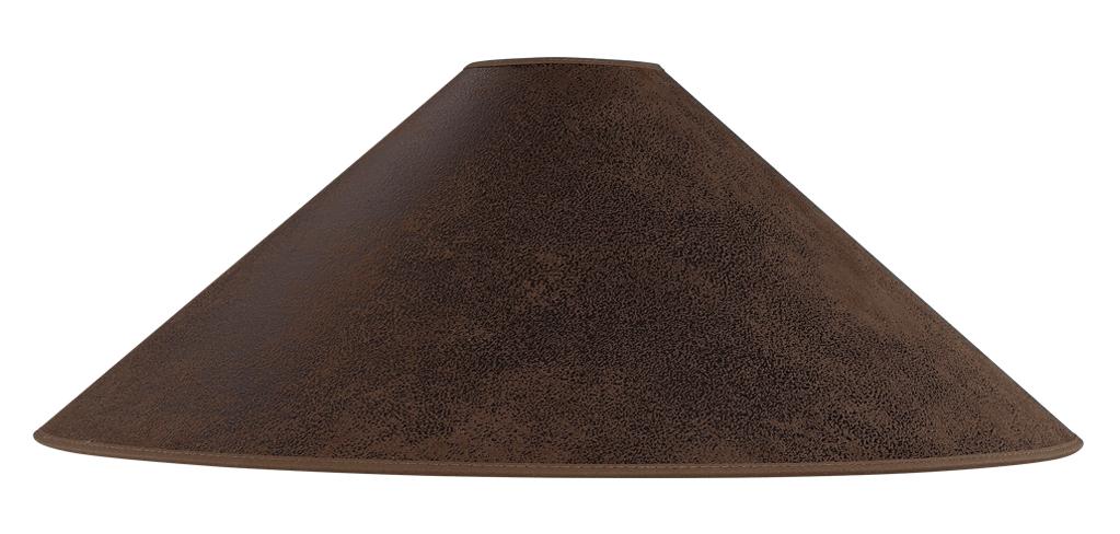 Lampskärm 55 cm Brun mocka