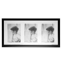 Tavelram Svart/Glas 50x,5x23,5 cm