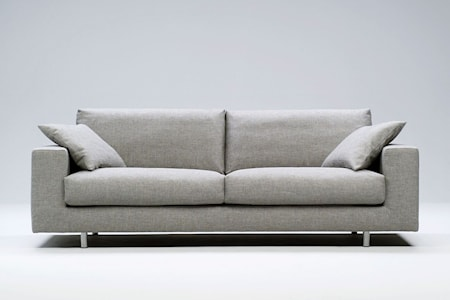 Sand 3-sits soffa – Bred armledare