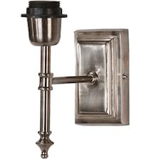 Classic Vägglampa Antiksilver 20 cm