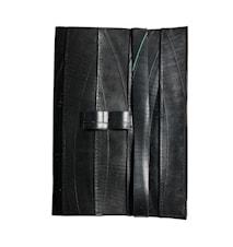 Anteckningsbok Sort Gummi 15x21,5 cm