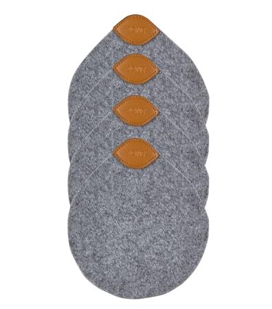 Zone Denmark Lasinalunen Harmaa 13,8×12 cm 4-pack