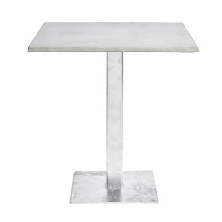 MUUBS Napoli Cafébord Grå Stål/Betongfiber 75x70x70 cm