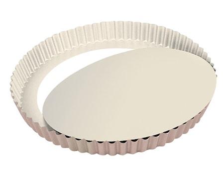 Ceramic Tærteform Ø28cm Creme