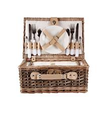 Piknik-Sett med kjølerom 38x26x16 cm
