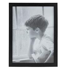 Tavelram Svart/Glas 30x40 cm