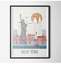 Embrace new york poster