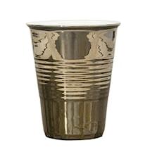 Kaffekopp Guld Mellan