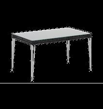 Mercur soffbord - Inkl glasskiva