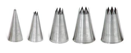 Stjärntyllset 5 styck Ø 2-18mm
