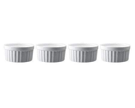 Dorre Kohokasvuoka keraaminen valkoinen Ø 10 cm 4-pack