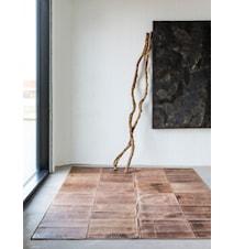Leather Dark brown Matta - 240x320