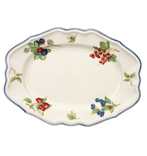Cottage Fat Oval 37cm