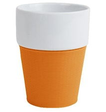Mugg silikon, orange