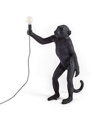 Monkey Lamp Outdoor Standing - Svart