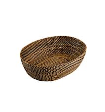 Brødkurv 24,5x18cm Oval