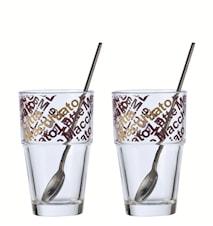 Solo Glas Kaffe Latte 4 delar