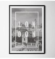 Photo london poster