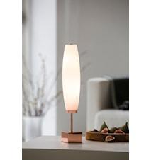 Micro Zenta bordslampa - Koppar, vit