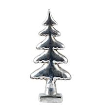 Träd Keramik Silver H 22cm L 11cm B 4cm