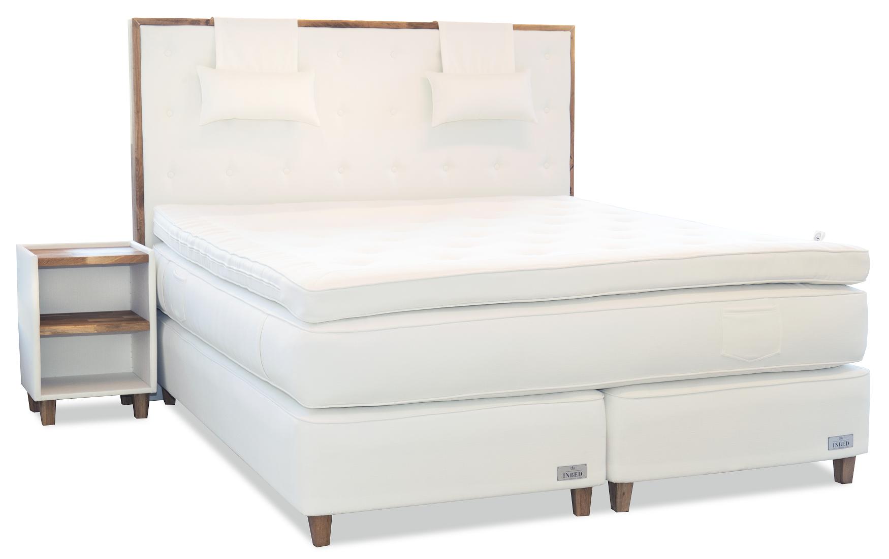 Sänggavlar 105 Cm : Inbed sänggavel ek från sweden hos confidentliving