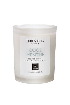 Doftljus Pure Senses 165gr cool menthe