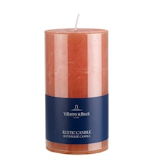 Ess. New Candles Rustic Stearinljus Orange 7x13