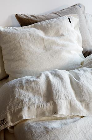 Lovely linen örngott – Off white