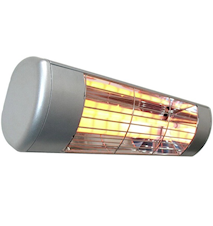 Heatlight Quartzvärmare HLW15 silver