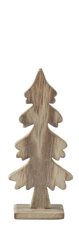 Figur Trä/Natur 19 cm