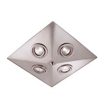Pyramid Plafond Stål