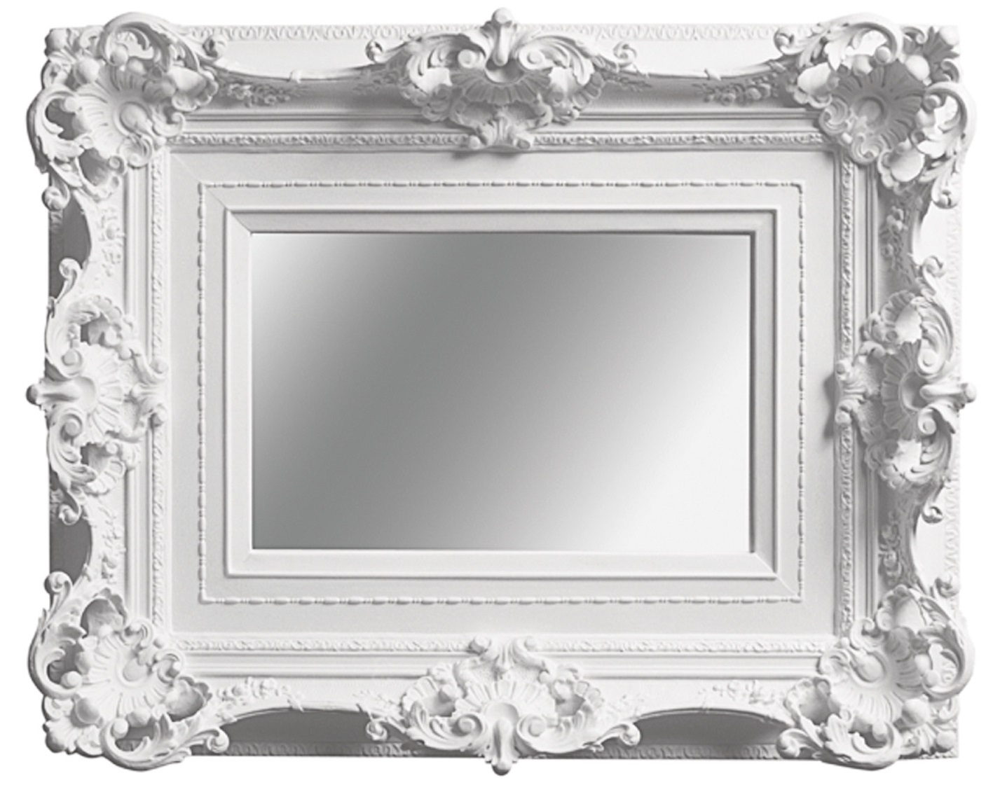 My brothers mirror - White