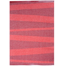 Åre Röd/vinröd matta 1 m