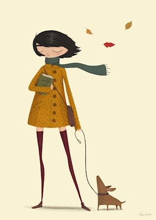 Bild av A Grape Design Windy poster