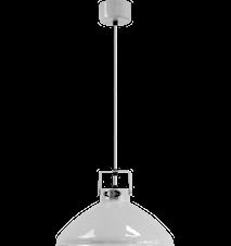 Beaumont B240 Taglampe Ø30 cm m. Sølvfarvet inderside