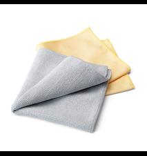 Rengjøringssett for rustfritt stål (2 duker) Grey / Yellow