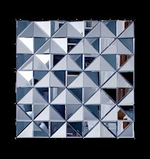 Stella square väggdekoration