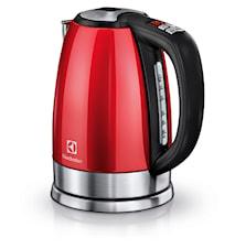 EEWA7700R Vannkoker med Justerbar Temperatur 1,7L Rød