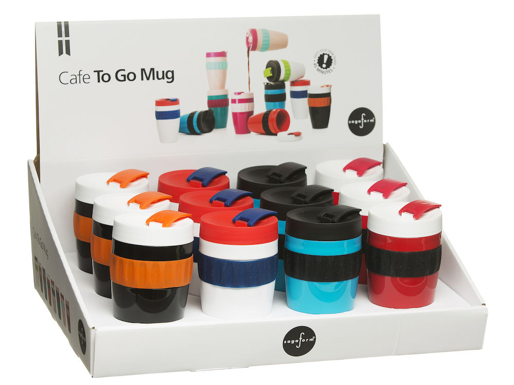 To Go mugg Match display, 12-pack