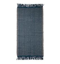 Gulvtæppe Cotton Blue 160x80 cm