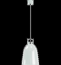 Clément C240 Taklampa Ø24 cm m. Silverfärgad insida