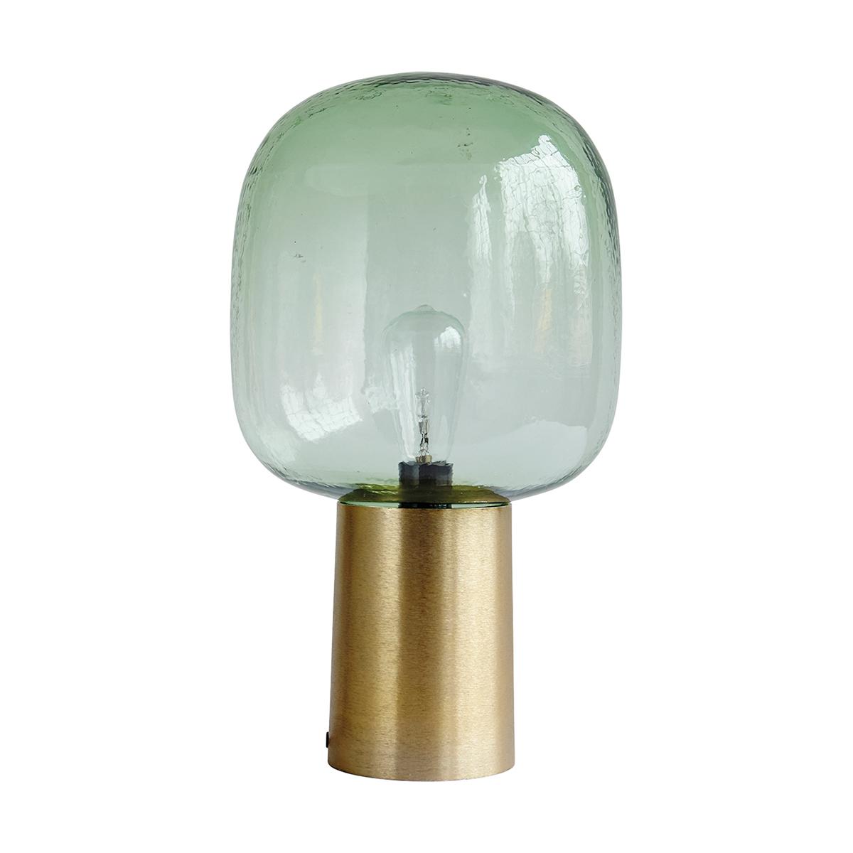 Note Lampa Grön/Mässing 28 cm