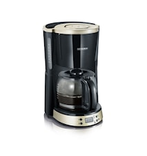 Kaffebryggare Timer Svart/Titan
