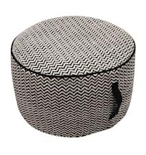 Fibe round sittpuff