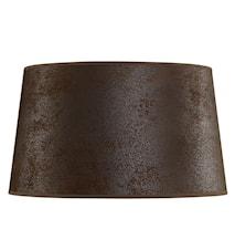 Lampskärm 50 cm Brun mocka