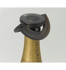 Gusto Champagnekork med Låsfunktion Svart