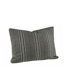 Weasly Stripe Kuddfodral 40x60 Black