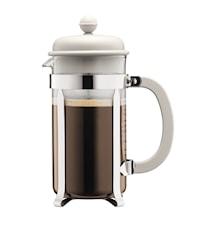 Caffettiera Kaffebryggare 8 koppar Vit