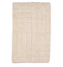 Badrumsmatta Sand 80x50 cm